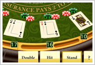 online blackjack rules and options